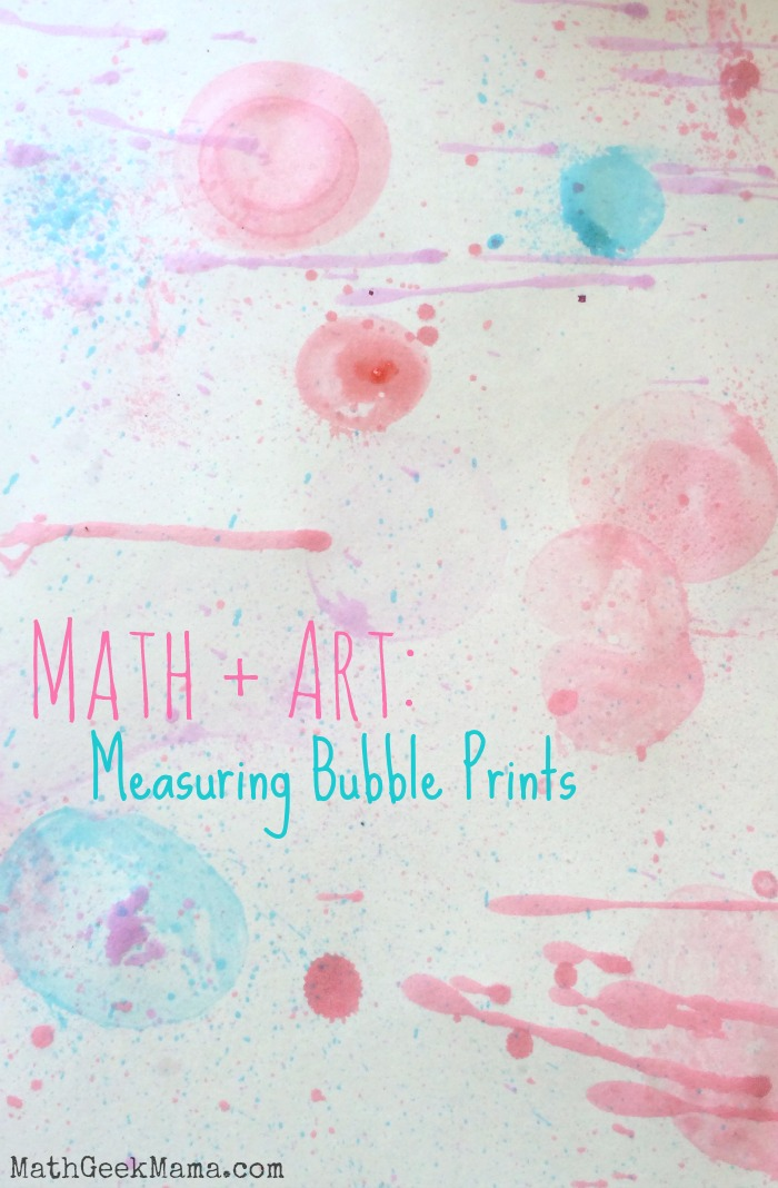 Exploring Math with Bubble Art Prints