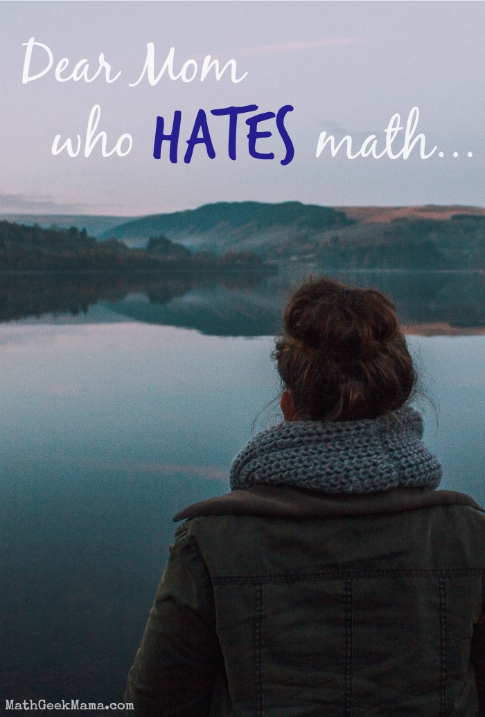 It can be so hard to teach and help your kids with their math homework when you hate it yourself. Moms- find encouragement and practical tips to help you support and help your kids and make math less of a chore!