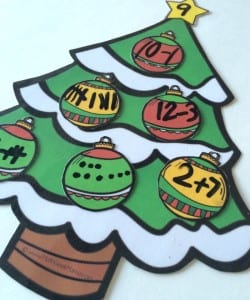 Decorate a Christmas Tree! {Number Sense Activity}