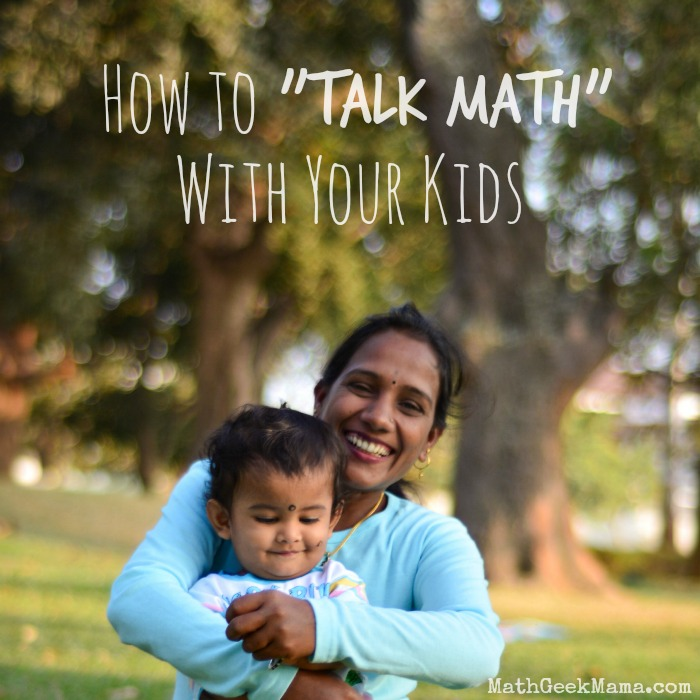 While it seems perfectly natural to read to our kids, talking about math can seem intimidating! This article offers practical ideas to increase math talk with your kids to help boost their math achievement!