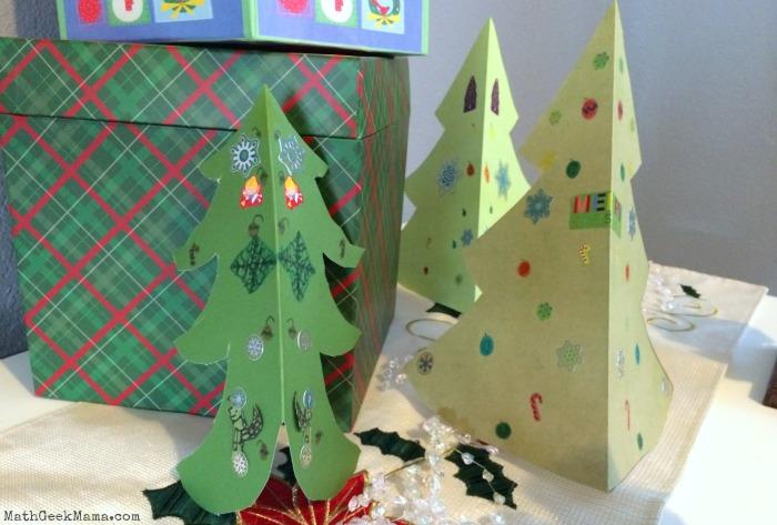 Broken Crayon Christmas Tree Craft