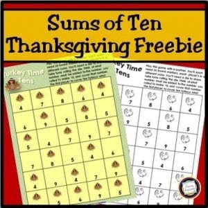 Turkey Time Tens