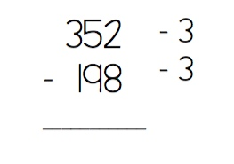 Subtraction example5