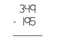 Subtraction example6