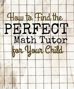 How to Find a Math Tutor for Your Child