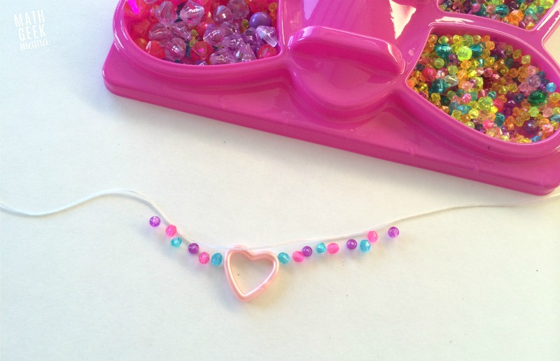One of the best ways to engage kids in math is to make it relevant to their life. In this post I share some examples of ways my daughter has learned and applied math skills by designing and making jewelry.