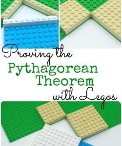 Pythagorean Theorem Lego Proof