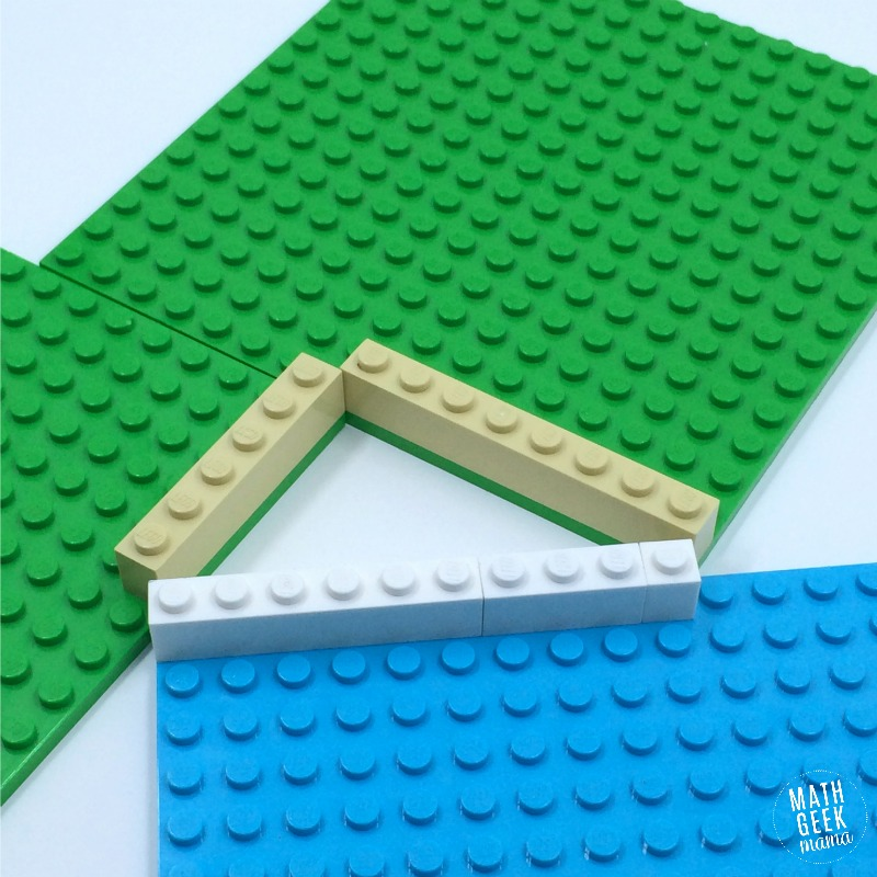 pythagorean theorem lego proof this is a great hands on way to explore triangles area and prove