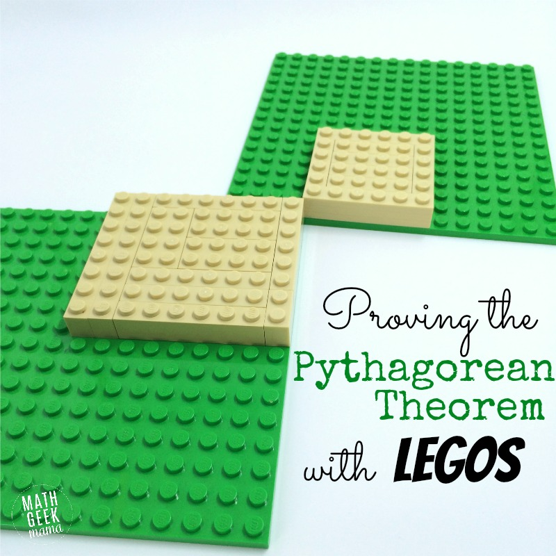 This is a great, hands-on way to explore triangles, area and prove the pythagorean theorem! Using Legos is a great way to make geometry more fun and provides a unique visual for students.