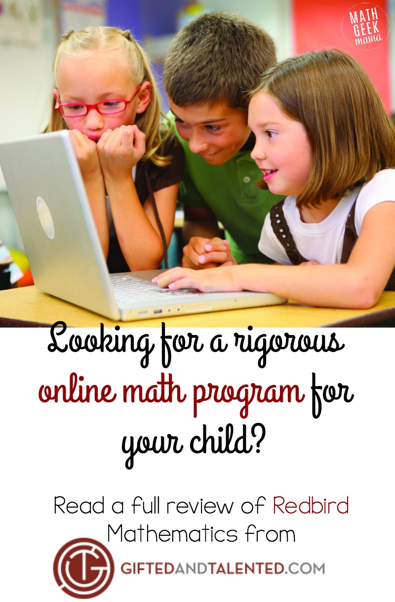 Redbird Mathematics Online Math Program Review