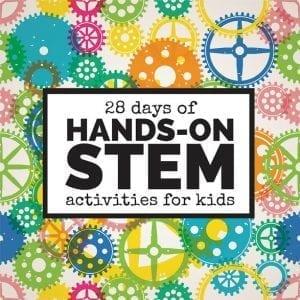 28 Days of Hands On STEM 1000x1000
