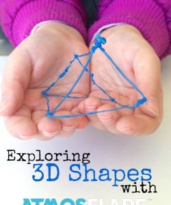 Learning About 3D Shapes with Atmosflare 3D Pen
