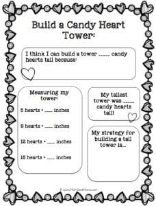Conversation hearts recording page