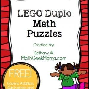 LEGO Duplo Puzzles Cover