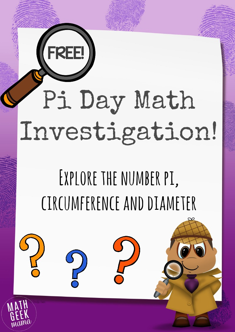 This hands on geometry lesson is perfect for pi day!! Explore the relationship between circumference and diameter in order to understand the number pi!