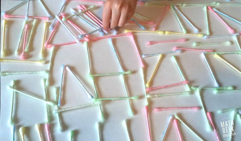 This looks so fun, and there are so many great ideas about how to use this super cheap math manipulative to learn all kinds of math concepts! Math with Q-Tips is so easy and versatile!