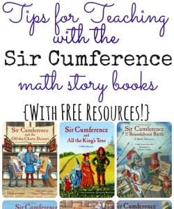 Tips for Teaching Math with Sir Cumference