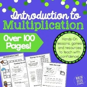Multiplication Bundle Sidebar Graphic