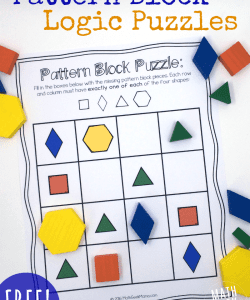 Pattern Block Puzzles {FREE}