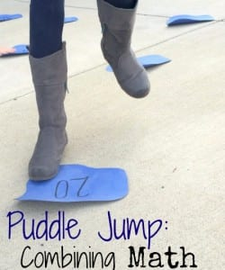Puddle Jump: Simple Math Game to Get Kids Moving!