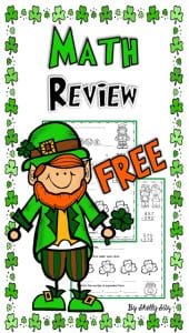 St. Patricik's Math Review long