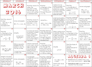 algebra-1-march-2016