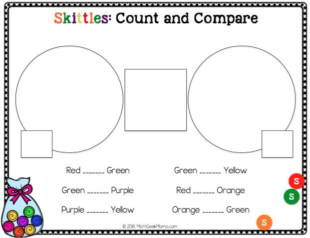 huge skittles math bundle math geek mama. Black Bedroom Furniture Sets. Home Design Ideas