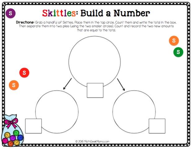 skittle math worksheets printable skittle best free printable worksheets. Black Bedroom Furniture Sets. Home Design Ideas