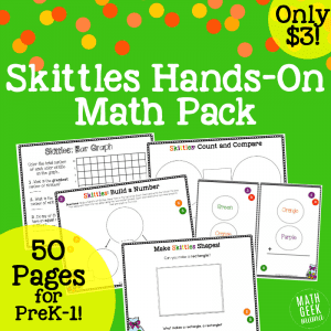 Skittles Math Hands On Lesson Bundle