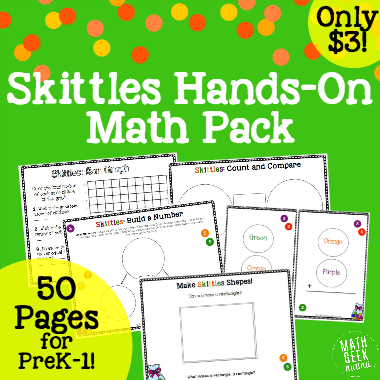Skittles Math Lesson Bundle Sidebar ad