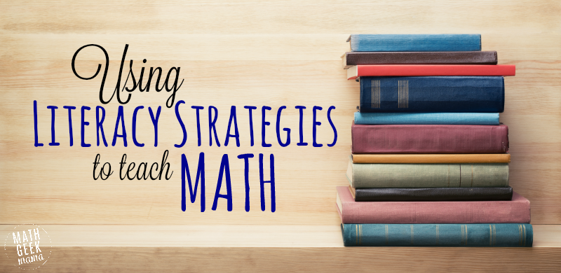 Using literacy strategies to teach math fandeluxe Choice Image