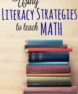 Using Literacy Strategies to Teach Math