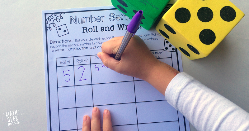 Simple And Low Prep Multiplication And Division Game Free