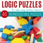 Pattern Block Puzzles Ebook Cover Square