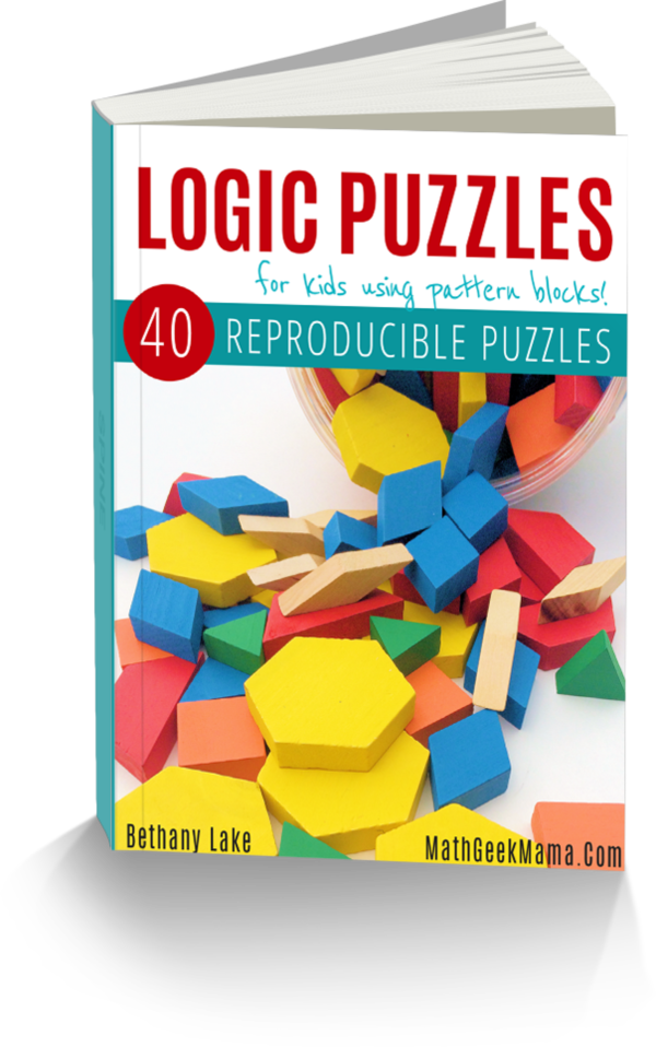 Pattern Block puzzles ebook