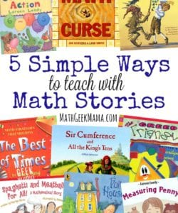 5 Simple Ways to Teach with Math Story Books