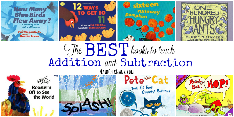 Best Books To Teach Addition And Subtraction on Images About Math Worksheets On Pinterest Fractions Online To