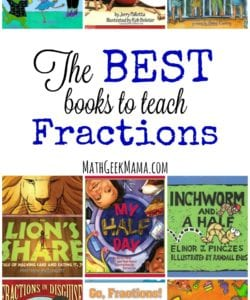 The Best Books to Teach Fractions