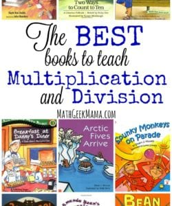 The Best Books to Teach Multiplication and Division