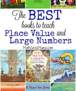 The Best Books to Teach Place Value and Large Numbers