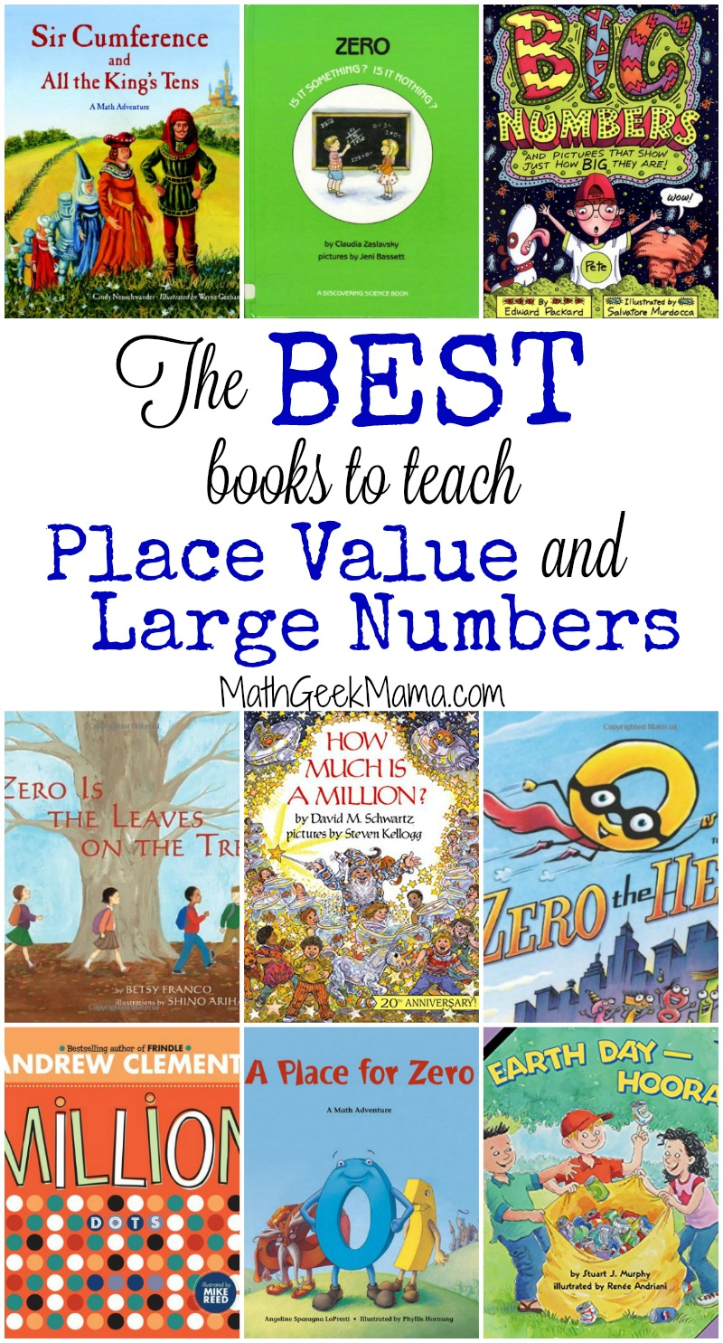 The best books to teach place value and large numbers this is such a helpful list of books that can be used to teach place value fandeluxe Image collections