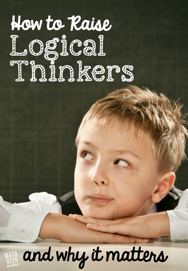 Logical reasoning skills are essential for kids to be successful in life and in math. Learn more about why logical thinking is important as well as fun and simple ways to develop logical reasoning skills in your kids!