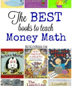 The BEST Books to Teach Money Math