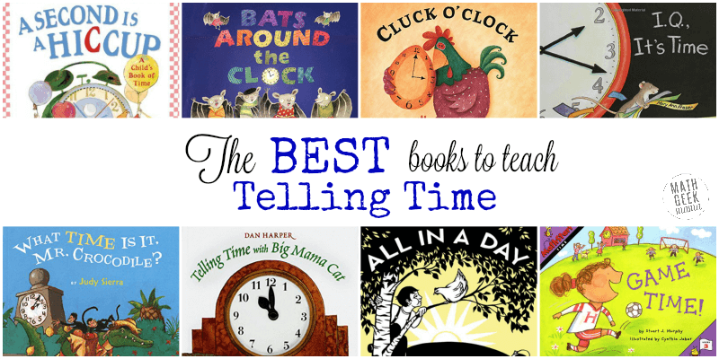The Best Books To Teach Time Concepts