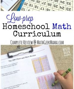 Easy to Use Homeschool Math Curriculum