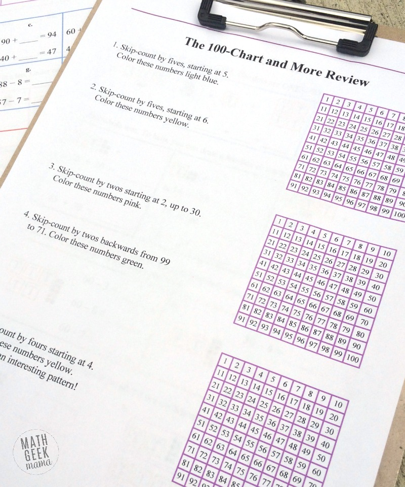 Easy to Use Homeschool Math Curriculum {a review}
