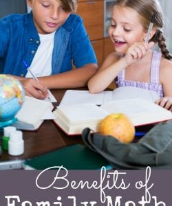 5 Benefits of Family Math Projects