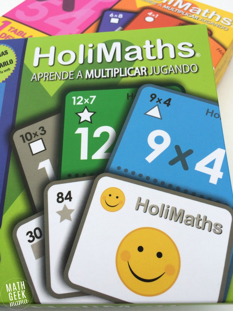 This fun and engaging multiplication card game is one that the whole family can play together! And with 10 different variations, your kids won't ever get bored. Learn multiplication facts in a fun way!