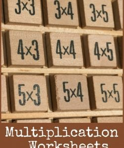 Fun Multiplication Worksheets that Build Conceptual Understanding
