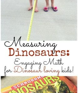 Measuring Dinosaurs: Engaging Measuring Activity for Kids!